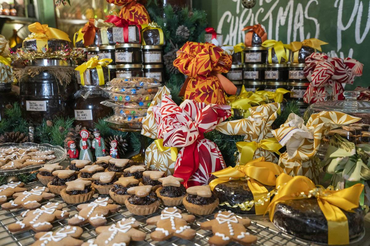 Christmas Treats - Flour Drum
