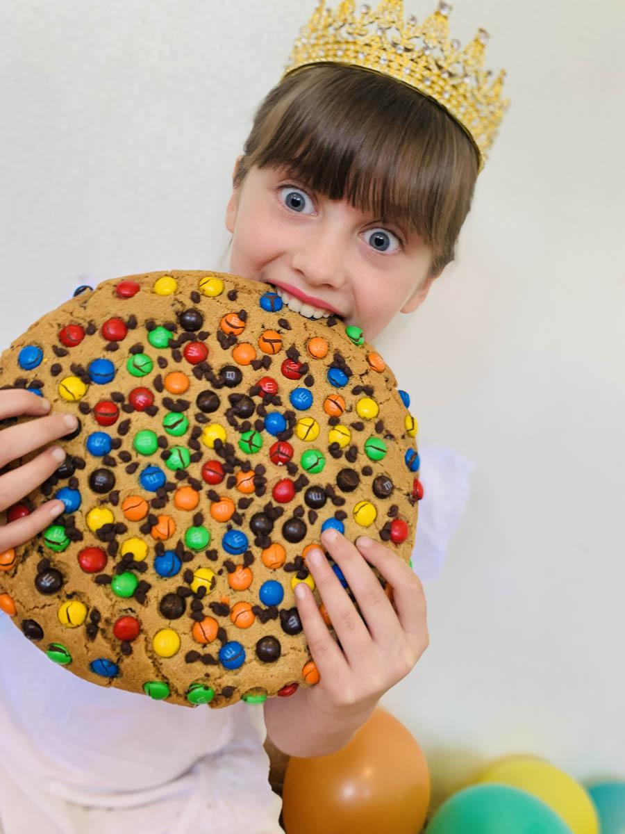 Giant Jumbo Cookies - Flour Drum